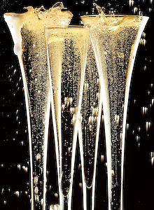 Oscar Elegance… Champagne!