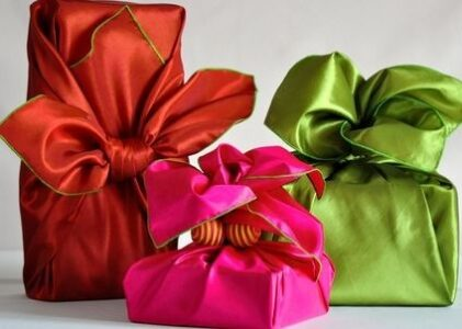 Gift Wrap Give Back!