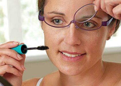 Makeup Application Glasses