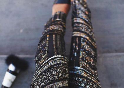 Embellished Pants