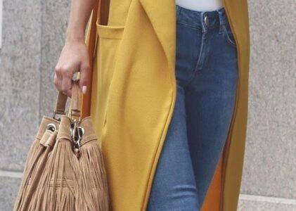 Sleeveless Duster Coat