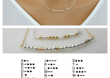 Secret Message Jewelry